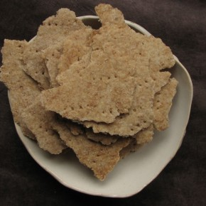Whole Wheat Crackers