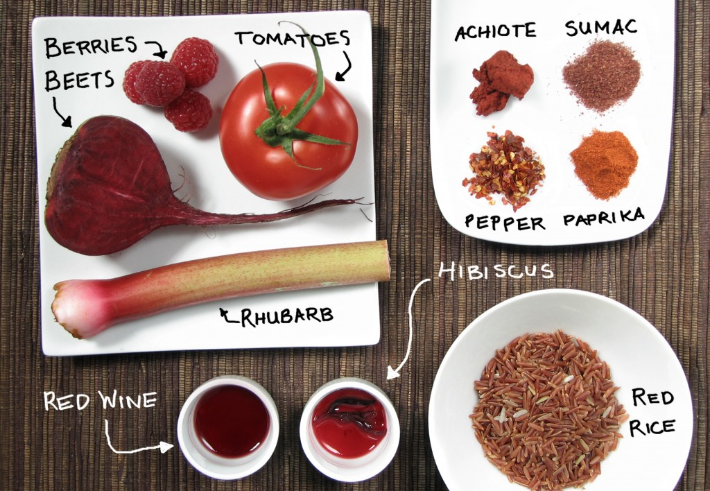 Red Food Roundup!