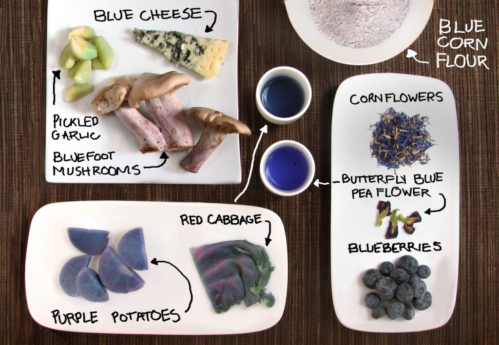 Blue Food Roundup!