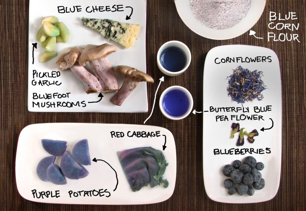 Blue Food Roundup!