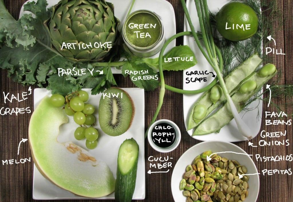Green Food Roundup!