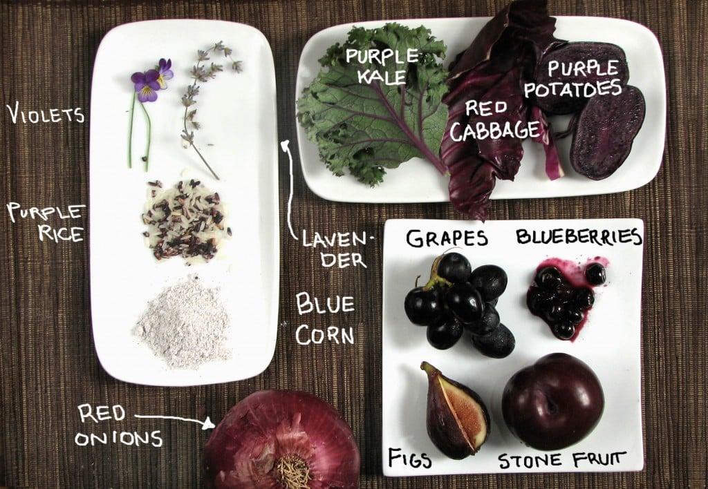 Purple Food Roundup!