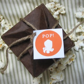 Popcorn pop-up cards
