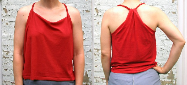 Braided Racerback Tank