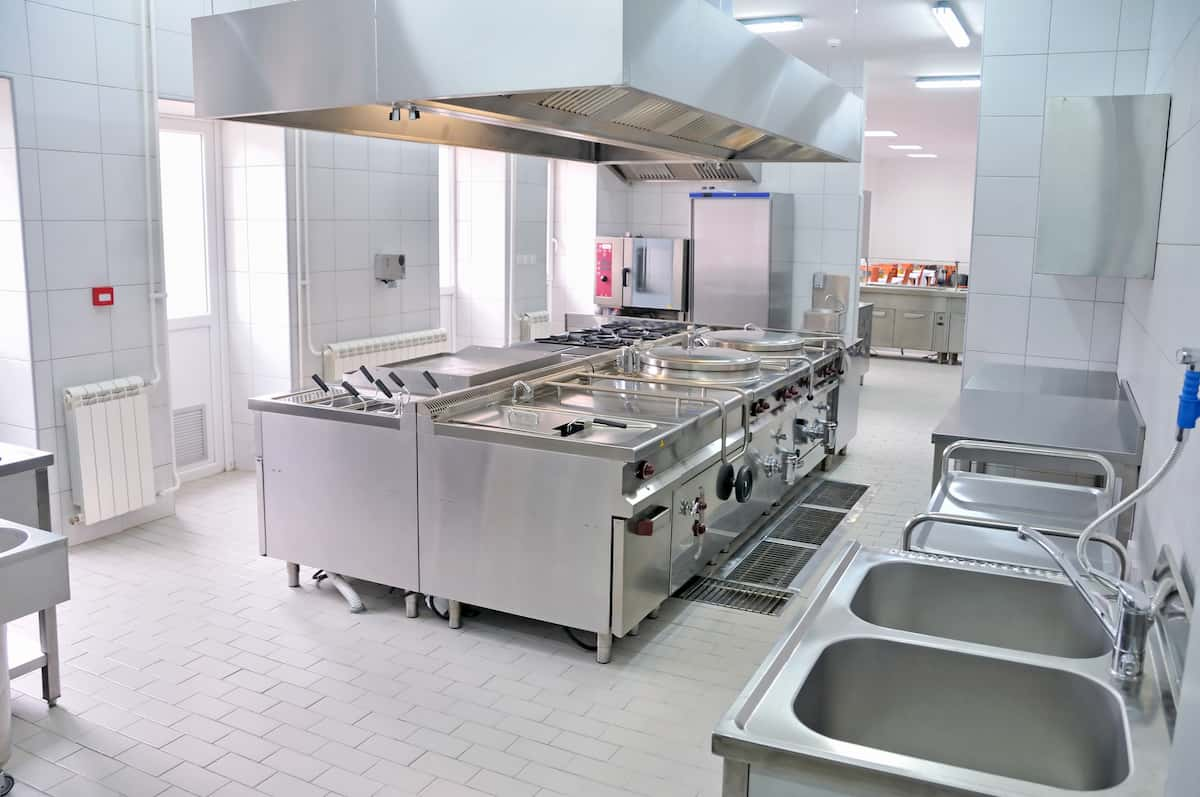 restaurant kitchen design