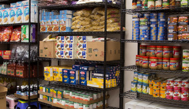What is a food shelf and how can it help me?