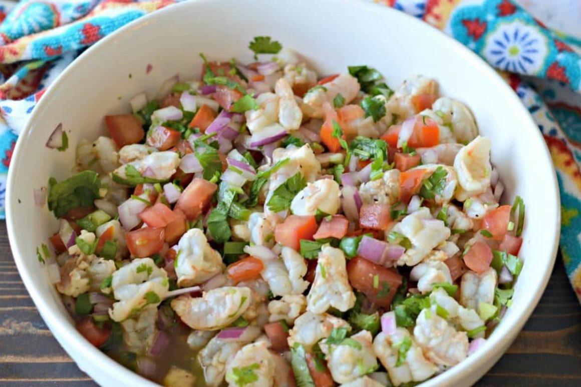 Raw Shrimp Ceviche Recipe