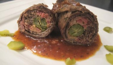 How to Make Rouladen German Food