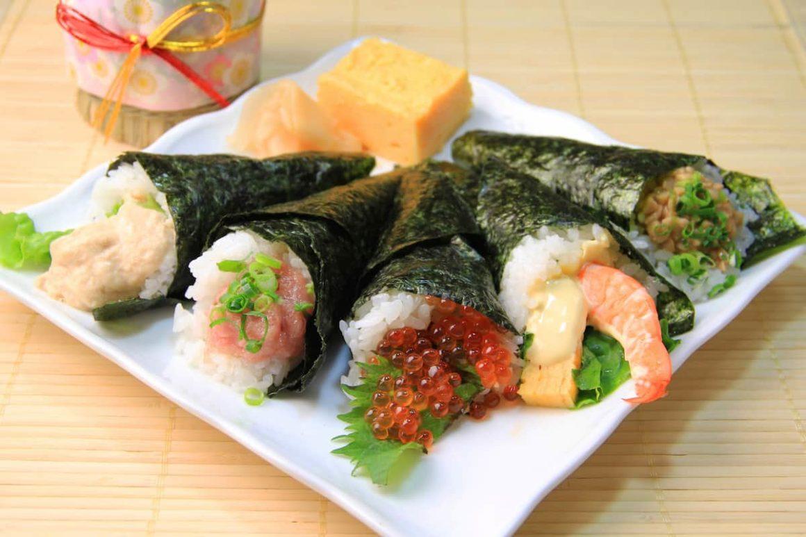 Hand Roll Sushi Recipe
