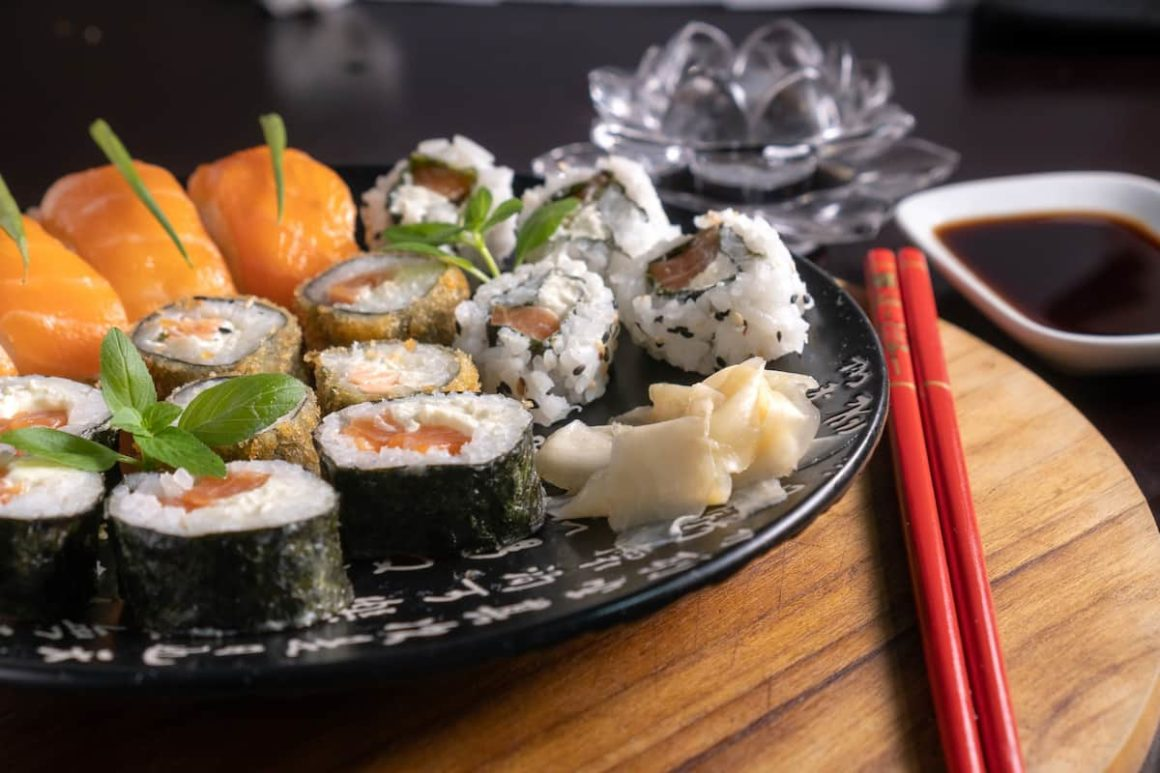 Types Of Cooked Sushi Rolls