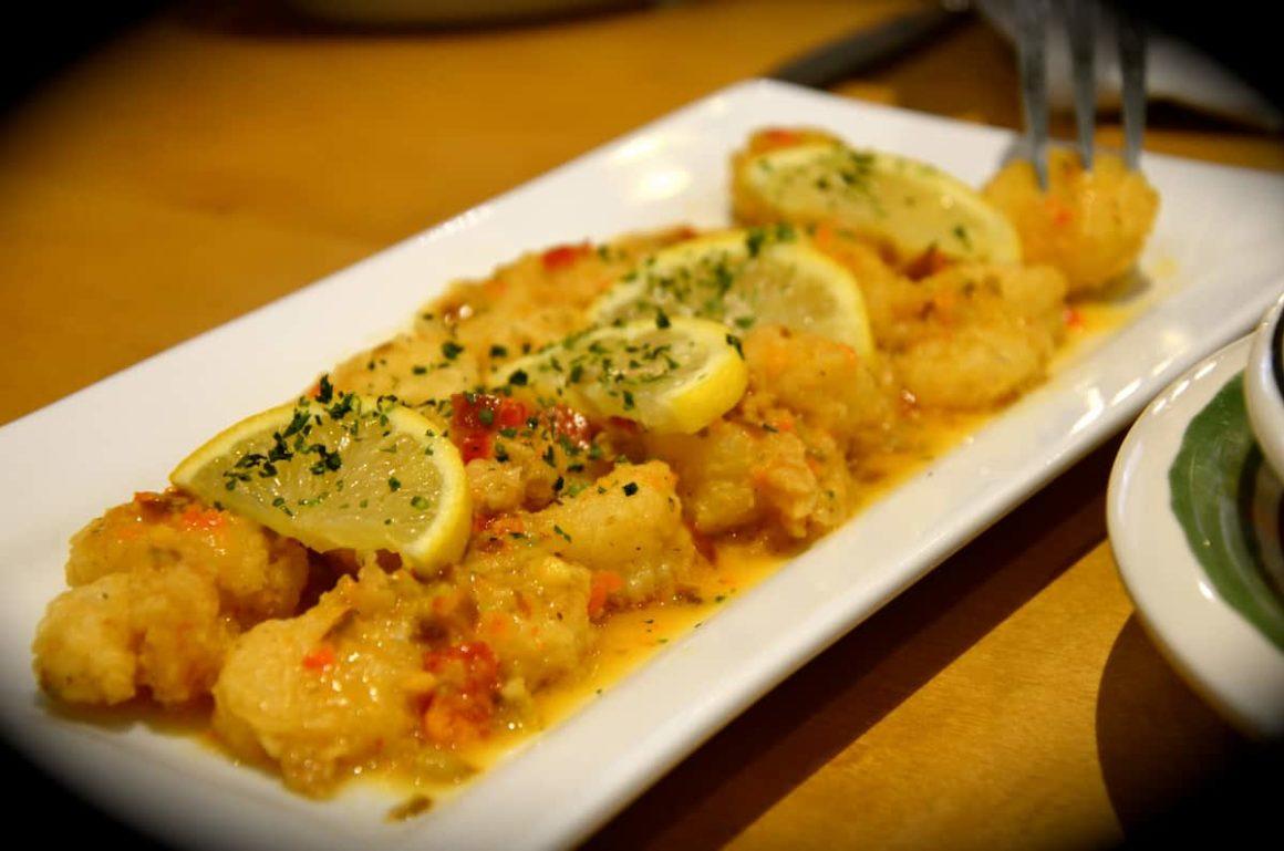 Shrimp Scampi Fritta