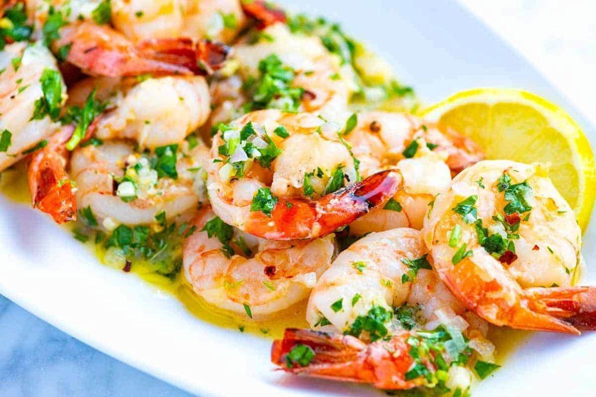 Traditional Shrimp Scampi Sauce
